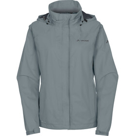 VAUDE Escape Bike Light Jacket Women pewter grey